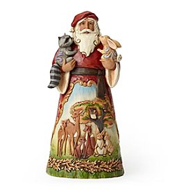 Heartwood Creek by Jim Shore Woodland Scene Santa Figurine