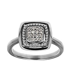 .10 ct. t.w. Diamond Ring In Sterling Silver