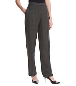 Briggs New York® Plaid Bistretch Trouser