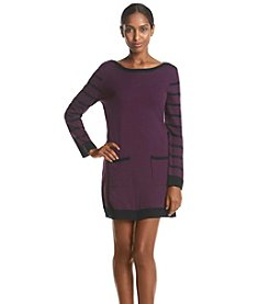 Notations® Boat Neck Sweater Dress