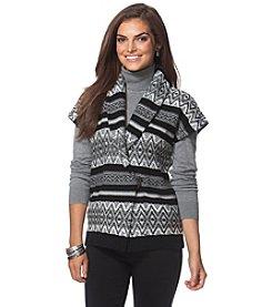Chaps® Patterned Sweater Vest