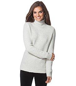 Chaps® Marled Mockneck Sweater