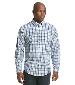 John Bartlett Consensus Men's Long Sleeve Washed Plaid Button Down