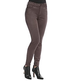 Jessica Simpson Faux Suede Skinny Pants
