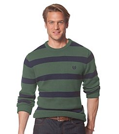 Chaps® Men's Striped Crewneck Sweater