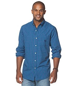 Chaps® Men's Long Sleeve Plaid Poplin Shirt