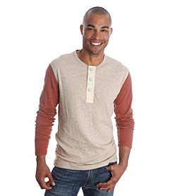 Lucky Brand® Men's Long Sleeve Duofold Henley