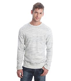Lucky Brand® Men's Long Sleeve Space Dye Crew Neck Pullover