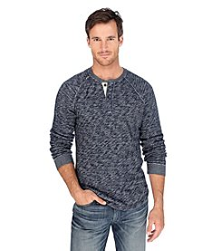Lucky Brand® Men's Long Sleeve Active Heather Henley