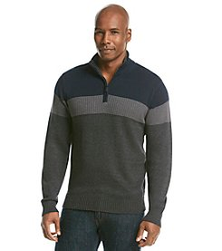 Tricots St. Raphael™ Men's 1/4 Zip Colorblocked Pullover Sweater