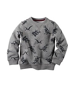 Carter's® Boys' 2T-7 Dinosaur Fleece