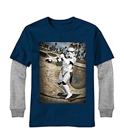 Star Wars® Boys' 8-20 Stormtrooper® Skateboarding Tee
