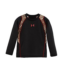Under Armour® Boys' 2T-4T Long Sleeve Camo Panel Tee