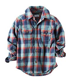 Carter's® Baby Boys' 12-24M Plaid Woven Shirt