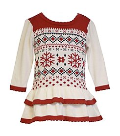 Bonnie Jean® Baby Girls' 12-24M Fair Isle Sweater Dress