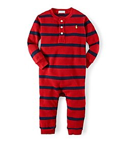 Ralph Lauren Childrenswear Baby Boys' Waffle Coverall