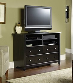 Sauder Edge Water Estate Highboy TV Stand