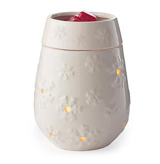 Candle Warmers Etc. Snowflake Illumination Fragrance Warmer