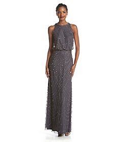 Adrianna Papell® Beaded Halter Gown