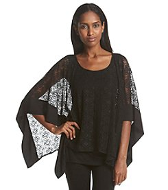 AGB® Lace Popover Top