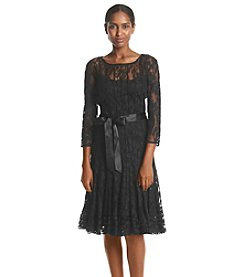 MSK® Lace Ribbon Sash Dress