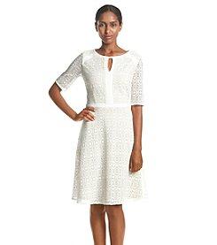 Jessica Howard® Keyhole Lace Dress