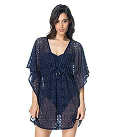 Bleu|Rod Beattie® Caftan Coverup