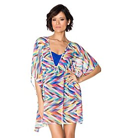 Bleu|Rod Beattie® Caftan Cover Up
