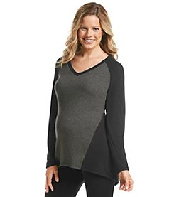 Three Seasons Maternity® Colorblocked Top