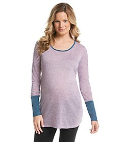 Three Seasons Maternity™ Long Sleeve Large Cuff Blouse