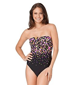 Anne Cole® Rosebud Engineered One Piece Swimsuit