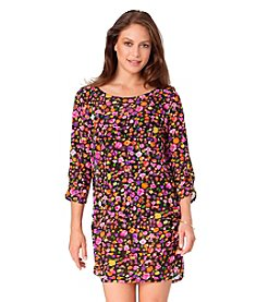 Anne Cole® Rosebud Mesh Cover Up