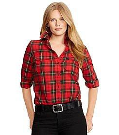Lauren Ralph Lauren® Plus Size Beasley Long Sleeve Shirt