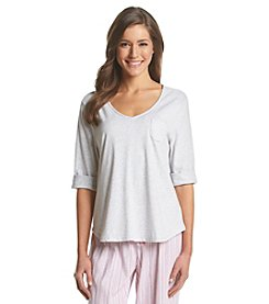KN Karen Neuburger V Neck Pajama Top