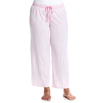 KN Karen Neuburger Plus Size Printed Pajama Pants plus size,  plus size fashion plus size appare