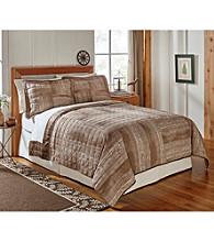 Field & Stream® Woodgrain Quilt Set