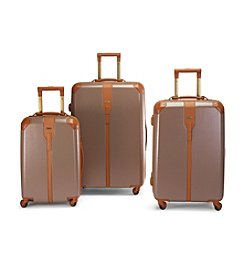 Hartmann® Herringbone Luxe Hardside Terracotta Luggage Collection + $50 Gift Card by mail