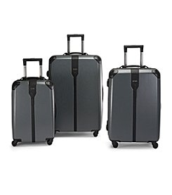 Hartmann® Herringbone Luxe Hardside Black Luggage Collection