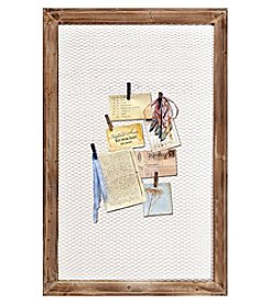 Sheffield Home® Chicken Wire Memo Board Organizer