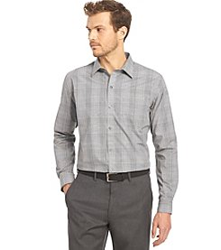 Van Heusen® Men's Long Sleeve No-Iron Traveler Plaid Woven