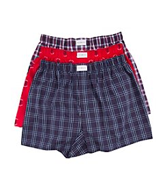 Tommy Hilfiger® Men's 3-Pack Patterned Boxers