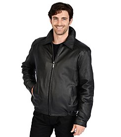 Excelled Sheepskin Men's Lamb Bomber