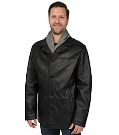 Excelled Sheepskin Men's Lamb Car Coat