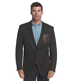 Tallia Orange Men's Herringbone Sport Coat