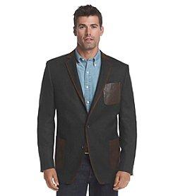 Tallia Orange Men's Herringbone Sport Coat