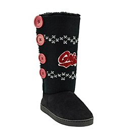 College Editions NCAA® Montana Grizzlies Women's Knit Button Boot Slippers