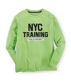 Ralph Lauren Childrenswear Boys' 8-20 Long Sleeve Sport Tee
