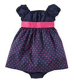 Chaps® Baby Girls' Polka Dot Woven Dress