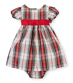 Chaps® Baby Girls' Plaid Woven Dress