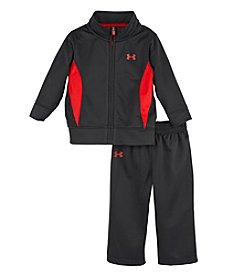 Under Armour® Boys' 4-7 Two-Piece Tricot Pants Set